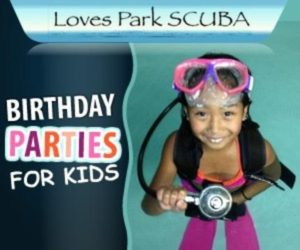 Kids Scuba Diving Birthday Parties