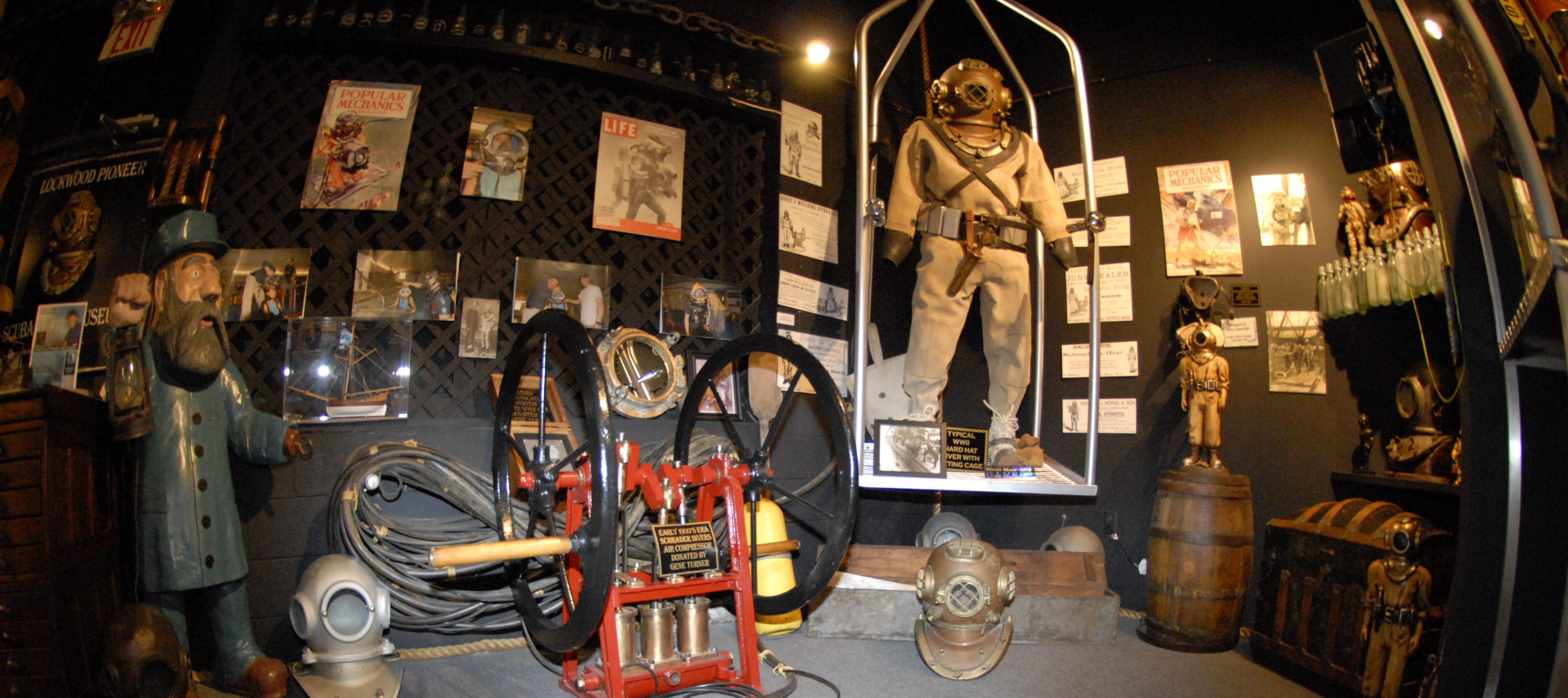 LOCKWOOD PIONEER SCUBA DIVING MUSEUM