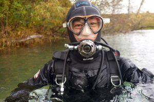 Scuba Diving at Pearl Lake