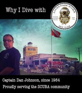 Dan Johnson Scuba Diving Instructor