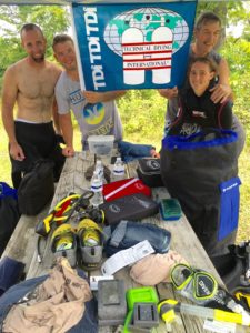 Scuba Diving International at Pearl Lake